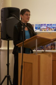 Lilit Thwaites, Chair of the Prize Sub-committee  (Photo by Michael Reynolds)